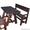 Кухонная мебель из массива дерева (сосна)    #500575
