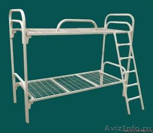 Кровати металлические для времянок, кровати для бытовок, кровати железные опт. - Изображение #1, Объявление #1478883
