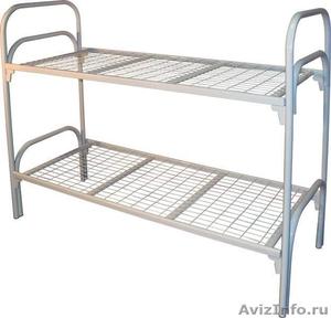 Кровати металлические для времянок, кровати для бытовок, кровати железные опт. - Изображение #6, Объявление #1478883