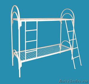 Металлические кровати, для строителей, кровати для вагончиков, кровати оптом - Изображение #1, Объявление #1479529