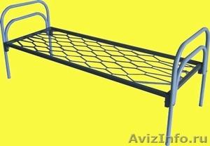 Железные двухъярусные кровати для бытовок, кровати для общежитий. оптом - Изображение #2, Объявление #1478960
