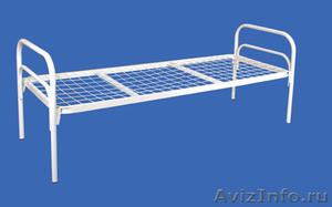 Металлические кровати, для строителей, кровати для вагончиков, кровати оптом - Изображение #2, Объявление #1479529