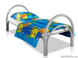 Кровати металлические для времянок, кровати для бытовок, кровати железные опт. - Изображение #4, Объявление #1478883