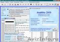 Analitika 2009 - Бесплатное ПО для учета и контроля деятельности предприятия