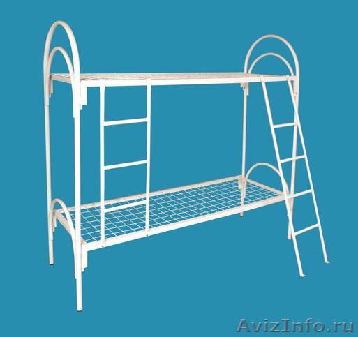 Металлические кровати, для строителей, кровати для вагончиков, кровати оптом, Объявление #1479529